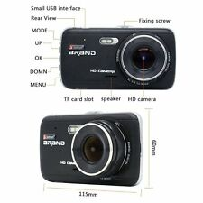 Car Dash Cam Full HD 1080P Dual Lens 170° with Rear View Cam with 16GB Card