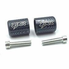 Carbon Fiber Hand Bar Ends For Kawasaki Ninja 250 500 ZX600 ZX6 636 ZZR600 ZX6R