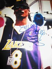 Snoop Dogg Signed 8x10 photo  Lakers , DR. Dre , Long Beach