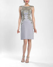NWT Sue Wong Beaded Cap Sleeve Cocktail Dress *Size 8