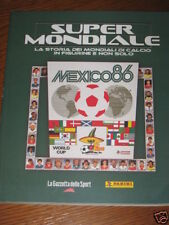 ALBUM FIGURINE PANINI STICKER COMPLETO/FULL MEXICO-MESSICO 1986 DIEGO MARADONA