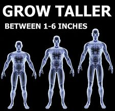 "Gain Height Now, be up to 6"" Taller ""GROW TALL"" 12 Month Course *SOLD WORLDWIDE*"