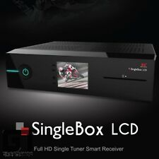 Red Eagle SingleBox LCD E2 Linux Full-HD Sat Receiver DVB-S2 mit 1xCI  1xCard