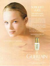 PUBLICITE ADVERTISING 064  1994  GUERLAIN  cosmétiques pour le visage