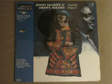 "JIMMY MCGRIFF RICHARD ""GROOVE"" HOLMES DUELING ORGANS LP '79 JAZZ GIANTS SEALED!"