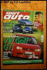 Sport Auto 12/97 VW Golf GTI BMW 323ti