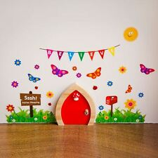 My Own Fairy Fairy Wall Stickers Accessories To Decorate Your Fairy Door New