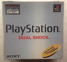SONY PLAYSTATION 1 PS1 Dual Shock Console System W/Original Box 2 Controls