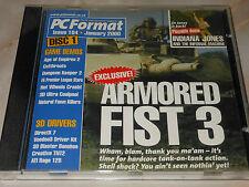 Formato PC CD-ROM-Issue 104-GENNAIO 2000-giochi, demo e altri software