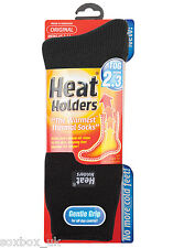 Da Uomo Originale Thermal Heat Holder Calze Taglia 6-11 UK, 39-45 EUR, Nero