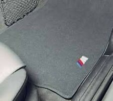 BMW E70 X5 Genuine M Carpeted Floor Mat Set, Mats NEW 2007-2013 OE Front & Rear