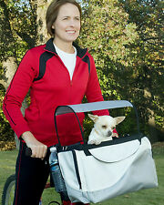 Solvit Deluxe Tagalong™ Pet Cat Dog Bicycle Basket Carrier Model 62330