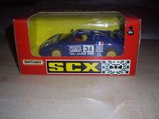 Menta in scatola fuori produzione SCX Bugatti Le Mans White ref 8387.20