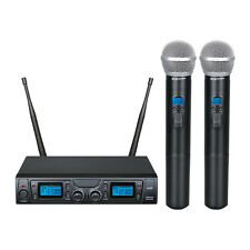 ZZIPP TXZZ620 Radiomicrofono con 2 Gelati uhf Doppio microfono Borsa da trasport