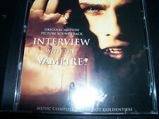 Interview With The Vampire Original Soundtrack CD By Elliot Goldenthal