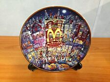 McDonalds Limited Edition Franklin Mint Collectors Plate - The Golden Apple