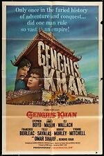 GENGIS KHAN James Mason Stephen Boyd ORIGINAL 1965 1-SHEET MOVIE POSTER