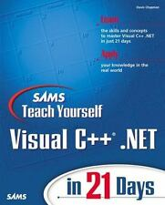 Sams Teach Yourself Visual C++.NET in 21 Days (2nd Edition)-ExLibrary