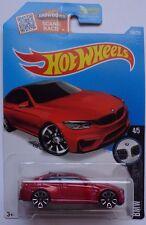 2016 Hot Wheels BMW SERIES 4/5 BMW M4 189/250 (Red Version)