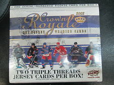 2001-02 PACIFIC CROWN ROYALE HOCKEY HOBBY BOX