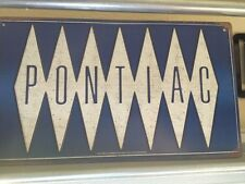 Pontiac Tin Sign 15x8 Garage Car Mancave Decor Fast Shipping