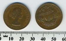 GREAT BRITAIN 1964 -  Half Penny  Bronze Coin - Queen Elizabeth II - Golden Hind