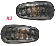 Holden VY VZ Side Indicator Set X2 Pair Smoked / Tinted SS HSV Calais Quality