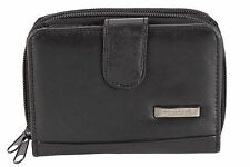 Quality Ladies Nappa Leather Bi-Fold Purse Multiple Compartments and Slots M1224