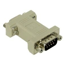 Null Modem Adapter/Converter,Serial (RS-232) Female: NMA-9, Unbranded/Generic