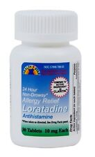 30 New Sealed Loratadine 30 ct 10 mg tablets Compare to Claritin OTC Allergy
