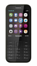 Brand New Nokia 225 Dual Sim BLACK Mobile Phone Unlocked GSM u.k FM Radio
