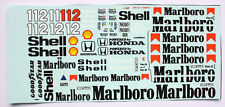 1/18 Mclaren Honda Mp4/4 Tamiya Ayrton Senna Model Car waterslide decal sticker