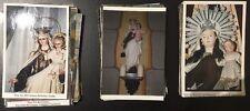 100 Holy card fotos de la Virgen del Carmen image pieuse santino  estampa