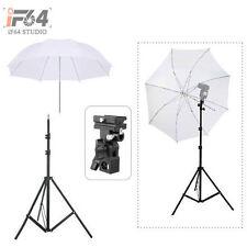 Light Stand + Flash Bracket B Mount + Umbrella / Flash Speedlite Accessories Kit