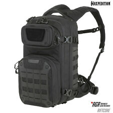 Maxpedition RFCBLK RIFTCORE AGR Tactical Military Backpack, CCW Hydration Black