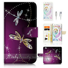 OPPO F1S Flip Wallet Case Cover P1844 Dragonfly