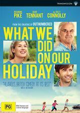 What We Did On Our Holiday * NEW DVD Rosamund Pike David Tennant Billy Connolly