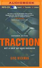 Traction : Get a Grip on Your Business by Gino Wickman (2014, MP3 CD,...