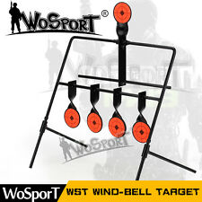 Airsoft Resetting Spin Target Portable Hunting Practice Shooting Sturdy Rifles