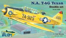 Valom 1/144 Model Kit 14408 North-American T-6G Texan (2 kits included)