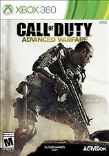 Call of Duty Advanced Warfare BOTH DISCS Microsoft Xbox 360 COD AW GAME