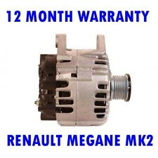 RENAULT MEGANE MK2 MK II 2.0 2005 2006 2007 - 2009 REMANUFACTURED ALTERNATOR