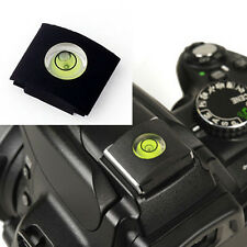 Camera Universal Hot Shoe Spirit Level Cover cap for Canon Nikon Pentax Sony A7