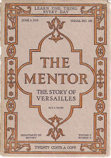 THE MENTOR #180 Junel 1 1919 The Story of Versailles