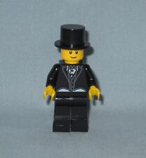 *******NEW LEGO WEDDING GROOM MINIFIGURE WITH TOP HAT IN BLACK TUXEDO********