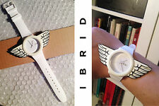 "SWATCH NEW GENT IBRIDO ""WHITE REBEL"" -suow 701"