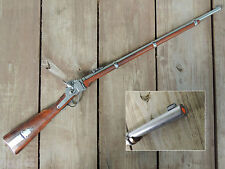 Replica 1859 Sharps Military Rifle Civil War Reenactor Western Cowboy Prop Gun