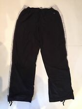 NIKE TRACK PANTS SIZE XL 16-18 WITH INTERNAL LINING BLACK, WHITE & GRAY