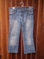 Women's Size 30 Citizens Of Humanity Jeans by Jerome Dahan Distressed Cropped