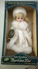 Petite Porcelains By Barbara Lee Dolls Of The World Collection Sweden 2000